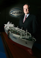 Lévis, September 28, 2006. Glenn Kelly, the president  of the consortium that is building Rabaska, a big liquid natural gas terminal near Quebec City.<br />