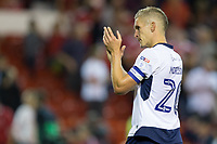 Steve Morison of Millwall during the Sky Bet Championship match between Nottingham Forest and Millwall at the City Ground, Nottingham, England on 4 August 2017. Photo by James Williamson / PRiME Media Images.