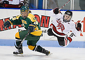 Danielle Skirrow (Clarkson - 28), Kendall Coyne (Northeastern - 77) - The Northeastern University Huskies defeated the visiting Clarkson University Golden Knights 5-2 on Thursday, January 5, 2012, at Matthews Arena in Boston, Massachusetts.