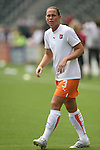 22 August 2009: Sky Blue's player/coach Christie Rampone. Sky Blue FC defeated the Los Angeles Sol 1-0 at the Home Depot Center in Carson, California in the inaugural WPS Championship game.
