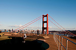 Marin Headlands; sightseeing; Golden Gate Bridge, San Francisco, California, USA.  Photo copyright Lee Foster.  Photo # california108761