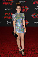 Rosanna Pansino at the world premiere for &quot;Star Wars: The Last Jedi&quot; at the Shrine Auditorium. Los Angeles, USA 09 December  2017<br /> Picture: Paul Smith/Featureflash/SilverHub 0208 004 5359 sales@silverhubmedia.com