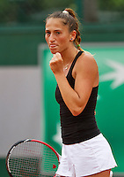 France, Paris, 27.05.2014. Tennis, French Open,Roland Garros, Alexandra Cadantu (ROU)<br /> Photo:Tennisimages/Henk Koster