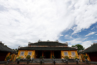 Imperial city and citadel in  Hue, Viet Nam.