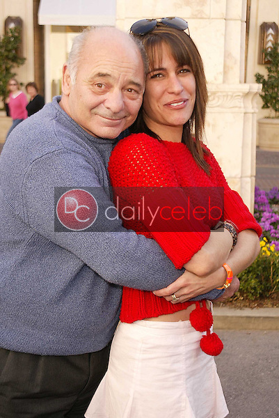 Burt Young and Vanessa Parise