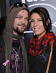 Bam Margera & date at The Paramount Pictures' L.A. Premiere of Jack Ass 3-D held at The Grauman's Chinese Theatre in Hollywood, California on October 13,2010                                                                               © 2010 Hollywood Press Agency