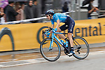 Gloria Rodriguez Sanchez (ESP) Movistar Team Women in action during Stage 2 of the Ceratizit Madrid Challenge by La Vuelta 2019 running 98.6km around Madrid, Spain. 15th September 2019.<br /> Picture: Luis Angel Gomez/Photogomezsport | Cyclefile<br /> <br /> All photos usage must carry mandatory copyright credit (© Cyclefile | Luis Angel Gomez/Photogomezsport)