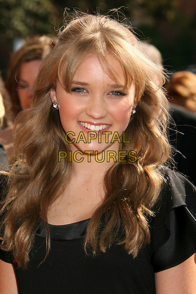 EMILY OSMENT.2007 Primetime Creative Arts Emmy Awards held at the Shrine Auditorium,.Los Angeles, California, USA, 08 September 2007..portrait headshot.CAP/ADM/RE.©Russ Elliot/AdMedia/Capital Pictures.