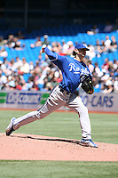 May 24th 2009:  Starting pitcher Luke Hochevar (44) of the Kansas City Royals during a game at the Rogers Centre in Toronto, Ontario, Canada .  Photo by:  Mike Janes/Four Seam Images