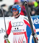10.03.2010, Kandahar Strecke Herren, Garmisch Partenkirchen, GER, FIS Worldcup Alpin Ski, Garmisch, Men Downhill, im Bild Grugger Hans, ( AUT, #11 ), Ski Head, EXPA Pictures © 2010, PhotoCredit: EXPA/ J. Groder