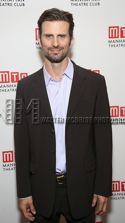 Frederick Weller attends the Opening Night photo call for 'Fulfillment Center' at New York City Center – Stage II on June 20, 2017 in New York City.