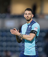 Max Muller of Wycombe Wanderers applauds the support after his teams loss during the Sky Bet League 2 match between Wycombe Wanderers and Crawley Town at Adams Park, High Wycombe, England on 25 February 2017. Photo by Andy Rowland / PRiME Media Images.