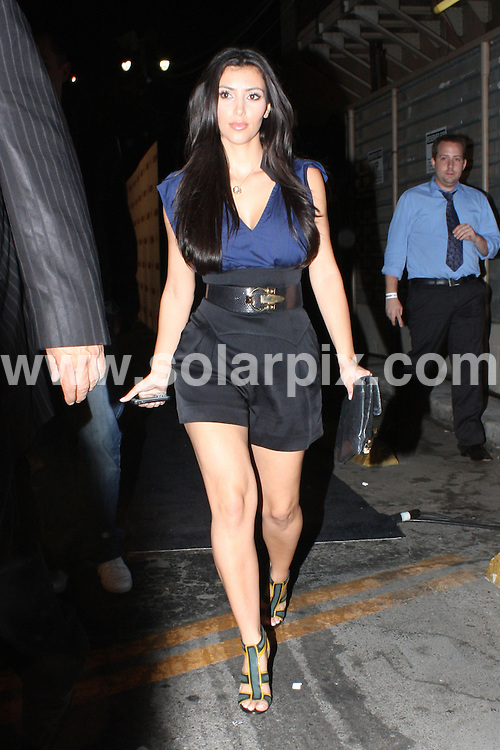 **ALL ROUND PICTURES FROM SOLARPIX.COM**.**WORLDWIDE SYNDICATION RIGHTS**.**NO PUBLICATION IN AUSTRALIA, DENMARK, GERMANY, NEW ZEALAND, OR USA**.Kim Kardashian arrives at Avalon Lounge for a party in Hollywood which was the first stop for Kim's night of clubbing..JOB REF:    7205  LAP / HD     DATE:   03.09.08.**MUST CREDIT SOLARPIX.COM OR DOUBLE FEE WILL BE CHARGED* *UNDER NO CIRCUMSTANCES IS THIS IMAGE TO BE REPRODUCED FOR ANY ONLINE EDITION WITHOUT PRIOR PERMISSION*