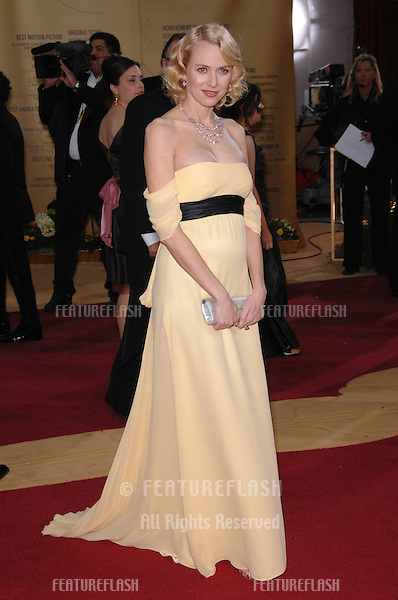 Naomi Watts at the 79th Annual Academy Awards at the Kodak Theatre, Hollywood..February 26, 2007  Los Angeles, CA.Picture: Paul Smith / Featureflash