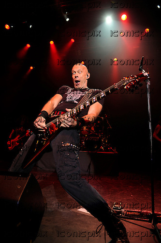 ACCEPT - guitarist Wolf Hoffman -  performing live at the Forum in London UK - 27 Nov 2014.  Photo credit: George Chin/IconicPix