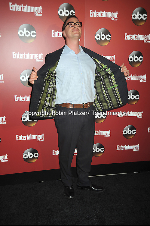 "Josh Malina of ""Scandal"" at the Entertainment Weekly and ABC-TV Upfront Party at The General on May 14, 2013 in New York City."