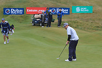 Louis Oosthuizen (RSA) on the 6th green during Round 2 of the Irish Open at LaHinch Golf Club, LaHinch, Co. Clare on Friday 5th July 2019.<br /> Picture:  Thos Caffrey / Golffile<br /> <br /> All photos usage must carry mandatory copyright credit (© Golffile | Thos Caffrey)