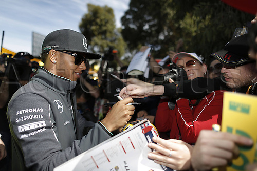 16.03.2014. Albert Park, Melbourne, Australia. FIA Formula One   World Championship 2014, Grand Prix of Australia, 44 Lewis Hamilton (GBR, Mercedes AMG Petronas F1 Team)