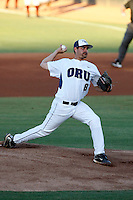 Mark Serrano of Oral Roberts University playing against Arizona State in the Tempe Regionals at Packard Stadium, Tempe, AZ - 05/30/2009.Photo by:  Bill Mitchell/Four Seam Images
