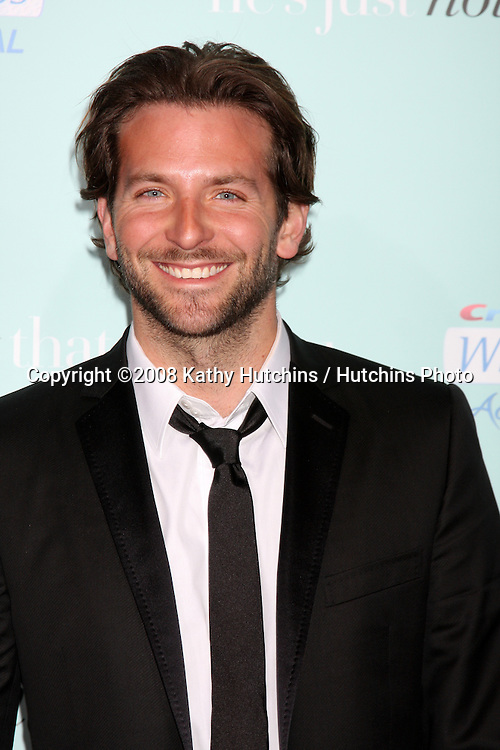 """Bradley Cooper arriving  at  the Premiere of """"He's Just Not That Into You"""" in Los Angeles, CA on .February 2, 2009.©2008 Kathy Hutchins / Hutchins Photo.."""