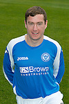 St Johnstone FC Season 2012-13 Photocall.Paddy Cregg.Picture by Graeme Hart..Copyright Perthshire Picture Agency.Tel: 01738 623350  Mobile: 07990 594431
