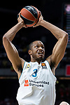 Real Madrid Anthony Randolph during Turkish Airlines Euroleague Quarter Finals 3rd match between Real Madrid and Panathinaikos at Wizink Center in Madrid, Spain. April 25, 2018. (ALTERPHOTOS/Borja B.Hojas)