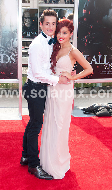 **ALL ROUND PICTURES FROM SOLARPIX.COM**                                             **UK SYNDICATION RIGHTS ONLY**    .Caption: New York premiere of Harry Potter And The Deathly Hallows: Part 2. Held at the Avery Fisher Hall, Lincoln Center, New York , USA. July 11, 2011.                                                                         This pic: Ariana Grande                                                                   JOB REF: 13693 RHB       DATE: 11_07_2011                                                           **MUST CREDIT SOLARPIX.COM OR DOUBLE FEE WILL BE CHARGED**                                                                      **MUST AGREE FEE BEFORE ONLINE USAGE**                               **CALL US ON: +34 952 811 768 or LOW RATE FROM UK 0844 617 7637**