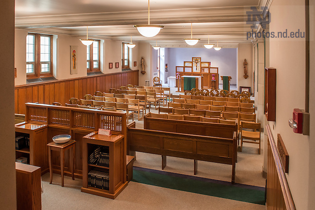 Jan. 22, 2015; Breen-Phillips Hall Chapel prior to 2015 renovation work. (Photo by Matt Cashore/University of Notre Dame)