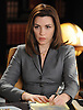 """Infamy""-- Alicia (Julianna Margulies) gleans a bit more info into Peter's fall from grace when she represents Glenn Childs' wife in their divorce.  Meanwhile, Will gets cozy with his opposing counsel during a wrongful death suit against an outspoken TV commentator, on THE GOOD WIFE, Tuesday, January 5, 2010 (10:00-11:00PM, ET/PT) on the CBS Television Network. Photo: David M. Russell/CBS ©2009 CBS Broadcasting Inc.. All Rights Reserved."