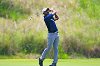 Chikkarangappa S (IND) during the first round of the Afrasia Bank Mauritius Open played at Heritage Golf Club, Domaine Bel Ombre, Mauritius. 30/11/2017.<br /> Picture: Golffile | Phil Inglis<br /> <br /> <br /> All photo usage must carry mandatory copyright credit (&copy; Golffile | Phil Inglis)