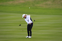 Charley Hull of Team Europe on the 2nd fairway during Day 2 Foursomes at the Solheim Cup 2019, Gleneagles Golf CLub, Auchterarder, Perthshire, Scotland. 14/09/2019.<br /> Picture Thos Caffrey / Golffile.ie<br /> <br /> All photo usage must carry mandatory copyright credit (© Golffile | Thos Caffrey)
