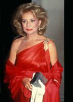 Barbara Walters 1987<br /> Photo By John Barrett/PHOTOlink