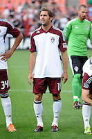 Colorado Rapids midfielder Brian Mullan (11) D.C. United defeated the Colorado Rapids 2-0 at RFK Stadium, Wednesday May 16, 2012.