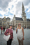 BRUSSELS - BELGIUM - 22 June 2016 -- Brussels city - The Grand Place. -- PHOTO: Juha ROININEN / EUP-IMAGES Käyttöoikeus: vain ET brändi