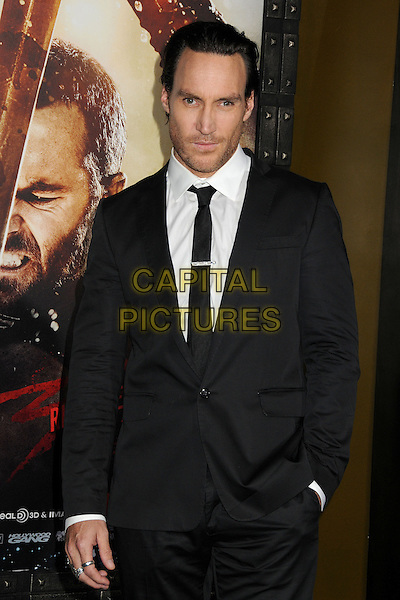 4 March 2014 - Hollywood, California - Callan Mulvey. &quot;300: Rise of an Empire&quot; Los Angeles Premiere held at the TCL Chinese Theatre. <br /> CAP/ADM/BP<br /> &copy;Byron Purvis/AdMedia/Capital Pictures