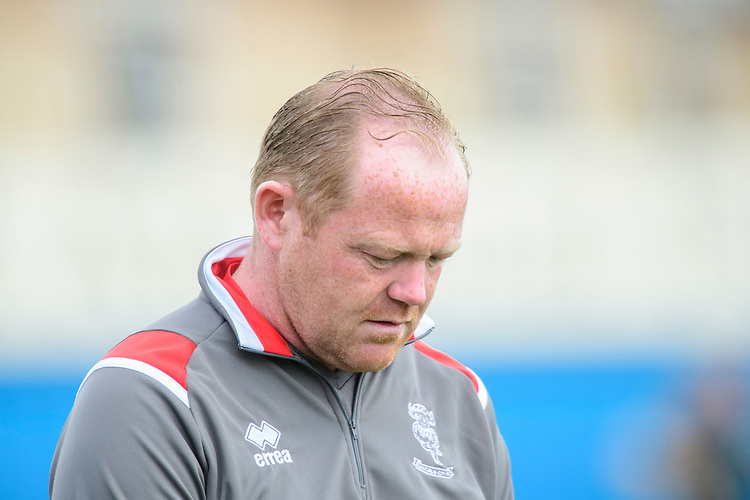 Lincoln City's chief scout Marc Tracy<br /> <br /> Photographer Chris Vaughan/CameraSport<br /> <br /> Football Pre-Season Friendly (Community Festival of Lincolnshire) - Gainsborough Trinity v Lincoln City - Saturday 6th July 2019 - The Martin & Co Arena - Gainsborough<br /> <br /> World Copyright © 2018 CameraSport. All rights reserved. 43 Linden Ave. Countesthorpe. Leicester. England. LE8 5PG - Tel: +44 (0) 116 277 4147 - admin@camerasport.com - www.camerasport.com