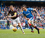 Christophe Berra and Ryan Hardie