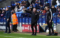 Bolton Wanderers' assistant manager Steve Parkin issues instructions<br /> <br /> Photographer Andrew Kearns/CameraSport<br /> <br /> The EFL Sky Bet Championship - Bolton Wanderers v Millwall - Saturday 9th March 2019 - University of Bolton Stadium - Bolton <br /> <br /> World Copyright © 2019 CameraSport. All rights reserved. 43 Linden Ave. Countesthorpe. Leicester. England. LE8 5PG - Tel: +44 (0) 116 277 4147 - admin@camerasport.com - www.camerasport.com