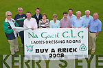 BUY A BRICK: The officials of Na Gaeil G.A.A. launching their Buy A Brick drive to building a Ladies Dressing Room at their club grounds on Thursday l-r: Tim Lynch (PRO), Seamus Moriarty (Vice Chairman), Adain Carmody (Chairman), Tim Lynch, Mary Mansell (Joint Treasurer), Kathy Carey (Joint Treasurer), Eamon Browne (Secretary), Dennis Moriarty, (Development Committee), Joe Clifford (Development Committee), Sean O'Connor (Development Committee), James Crean (Chairman and Vice Chairman of the Development Committee).   Copyright Kerry's Eye 2008