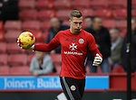 Simon Moore of Sheffield Utd warms up during the English League One match at Bramall Lane Stadium, Sheffield. Picture date: December 10th, 2016. Pic Simon Bellis/Sportimage