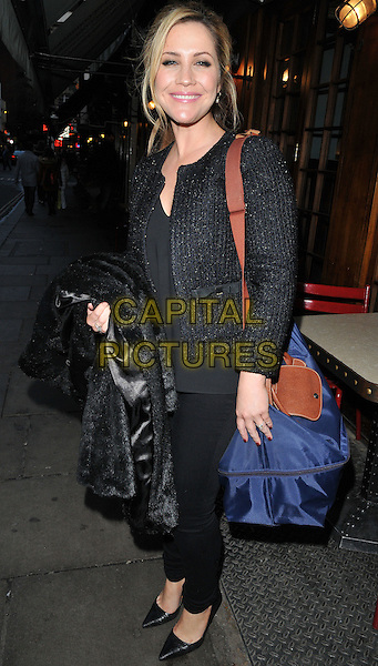 Heidi Range attends the TBSeen.com new celebrity-curated lifestyle shopping platform press launch, Soho House, Old Compton Street, Soho, London, UK, on Monday 04 January 2016.<br /> CAP/CAN<br /> &copy;CAN/Capital Pictures