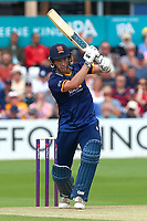 Tom Westley hits six runs for Essex during Essex Eagles vs Glamorgan, NatWest T20 Blast Cricket at The Cloudfm County Ground on 16th July 2017