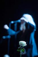 """The singer Smith perform her legendary album """"Horses"""" on on August 11, 2015 in Berlin. 40 years before in 1975 she released the album the first time. The concert was sold out weeks before.<br /> 11.8.2015, Berlin<br /> Copyright: Christian-Ditsch.de<br /> [Inhaltsveraendernde Manipulation des Fotos nur nach ausdruecklicher Genehmigung des Fotografen. Vereinbarungen ueber Abtretung von Persoenlichkeitsrechten/Model Release der abgebildeten Person/Personen liegen nicht vor. NO MODEL RELEASE! Nur fuer Redaktionelle Zwecke. Don't publish without copyright Christian-Ditsch.de, Veroeffentlichung nur mit Fotografennennung, sowie gegen Honorar, MwSt. und Beleg. Konto: I N G - D i B a, IBAN DE58500105175400192269, BIC INGDDEFFXXX, Kontakt: post@christian-ditsch.de<br /> Bei der Bearbeitung der Dateiinformationen darf die Urheberkennzeichnung in den EXIF- und  IPTC-Daten nicht entfernt werden, diese sind in digitalen Medien nach §95c UrhG rechtlich geschuetzt. Der Urhebervermerk wird gemaess §13 UrhG verlangt.]"""