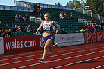 IPC European Athletics Championship 2014<br /> Erin McBride (GBR) Women's 400m T13.<br /> Swansea University<br /> 19.08.14<br /> &copy;Steve Pope-SPORTINGWALES