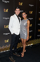 LAS VEGAS, NV - July 12, 2016: ***HOUSE COVERAGE*** Skye Scott and Joanna Jones pictured as BAZ  -Star Crossed Love Opening Night arrivals at The Palazzo Theater at The Palazzo Las Vegas in Las vegas, NV on July 12, 2016. Credit: Erik Kabik Photography/ MediaPunch