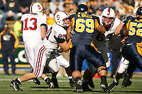 2 December 2006: Erik Lorig during Stanford's 26-17 loss to Cal in the 109th Big Game at Memorial Stadium in Berkeley, CA.