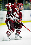 24 November 2009: University of Massachusetts Minuteman defenseman Matthew Irwin, a Sophomore from Brentwood Bay, BC, in action against the University of Vermont Catamounts at Gutterson Fieldhouse in Burlington, Vermont. The Minutemen defeated the Catamounts 6-2. Mandatory Credit: Ed Wolfstein Photo