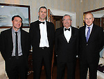 Martin Rogers, Brendan Healy, Willie Higgins and Shane Mohan pictured at the Tiny Hearts fundraising group gala dinner at Darver Castle. Photo: www.colinbellphotos.com