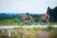 Greg Henderson (NZL/Lotto-Belisol) &amp; Adam Hansen (AUS/Lotto-Belisol) <br /> <br /> Ster ZLM Tour 2014