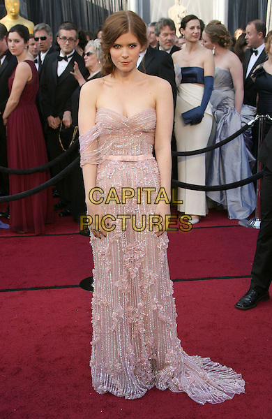 Kate Mara.84th Annual Academy Awards held at the Hollywood & Highland Center, Hollywood, California, USA..February 26th, 2012.oscars full length purple lilac pink dress   strapless off the shoulder .CAP/ADM.©AdMedia/Capital Pictures.